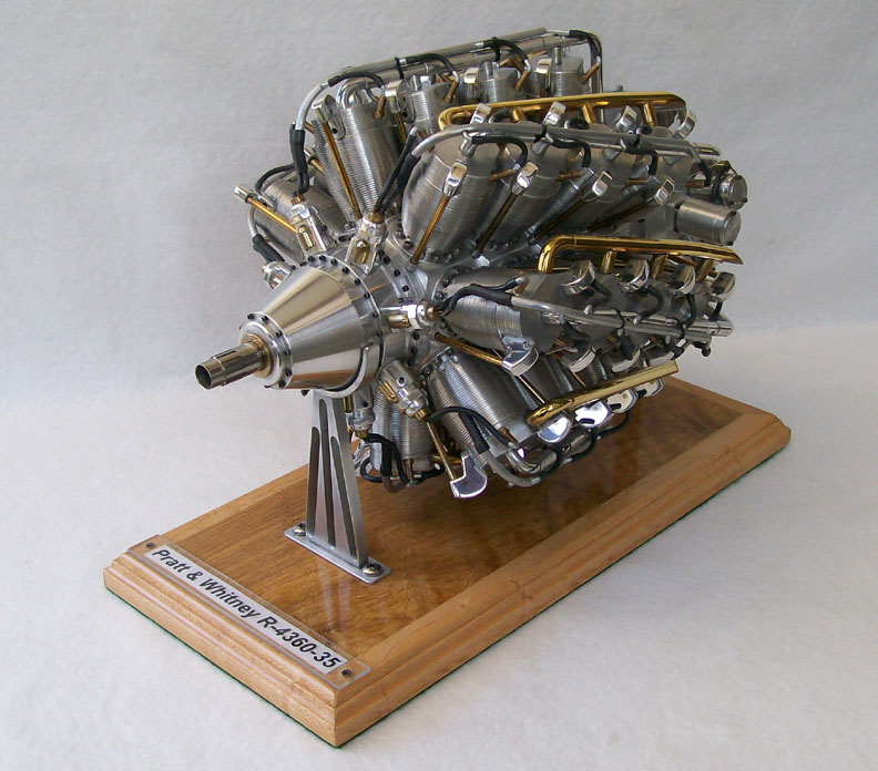 Pratt And Whitney Wasp Engine Model, Pratt, Free Engine ...