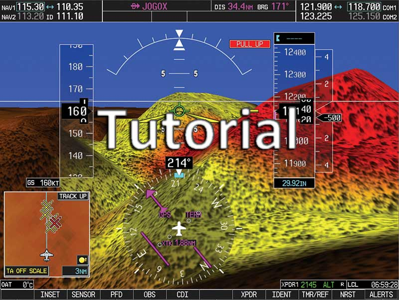 Video tutorial Garmin G1000